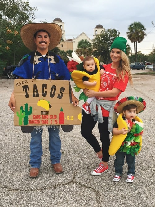 Taco Family Halloween Costume