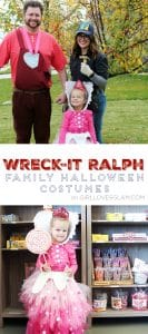 Wreck-It Ralph Family Halloween Costumes on www.girllovesglam.com