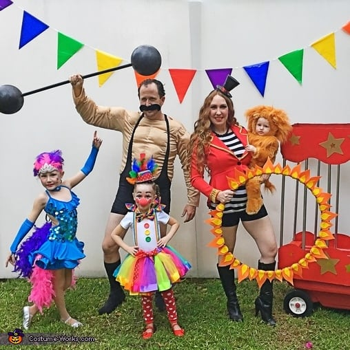 Circus Family Halloween Costume