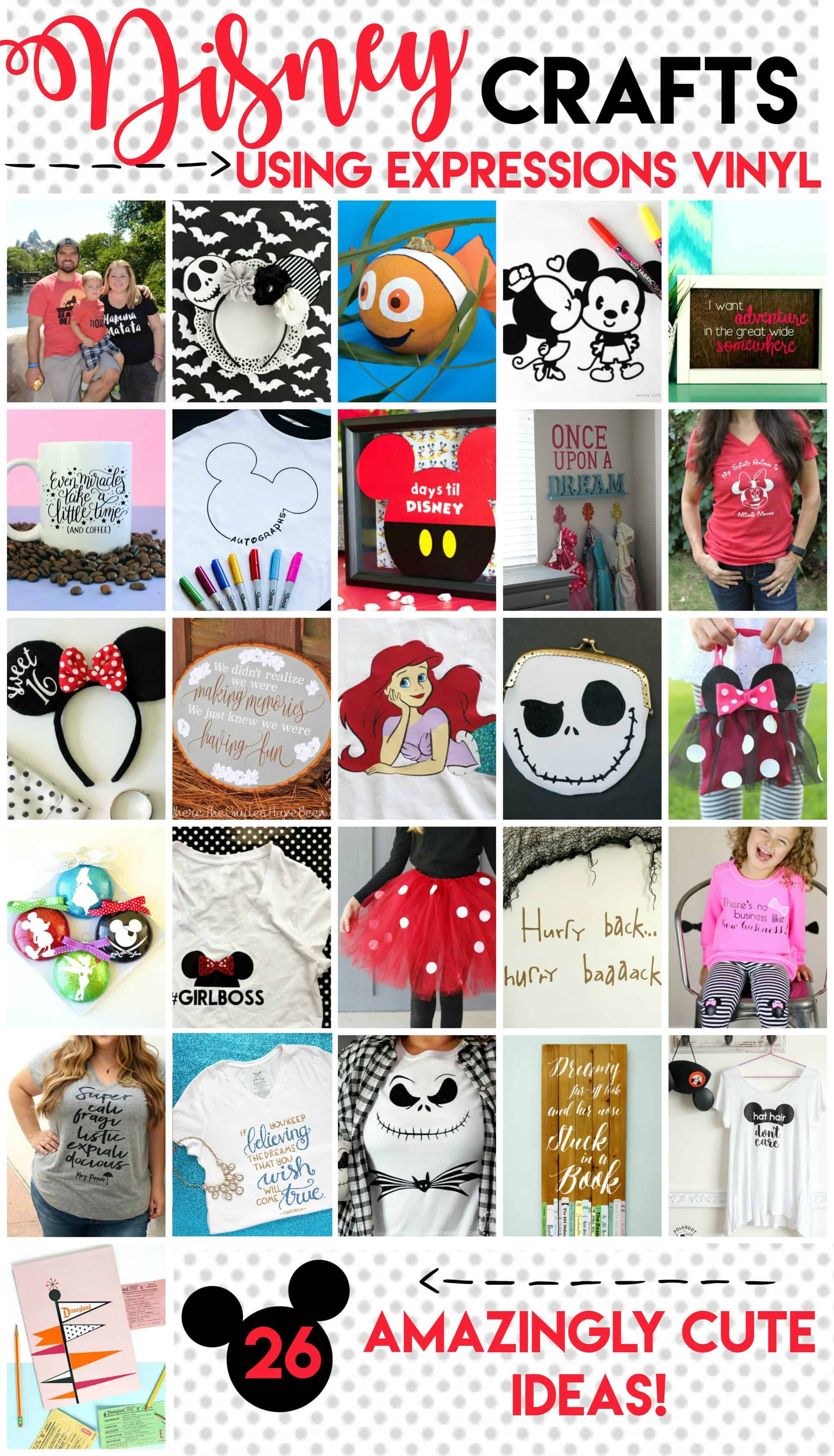 Disney Crafts and DIYs on www.girllovesglam.com