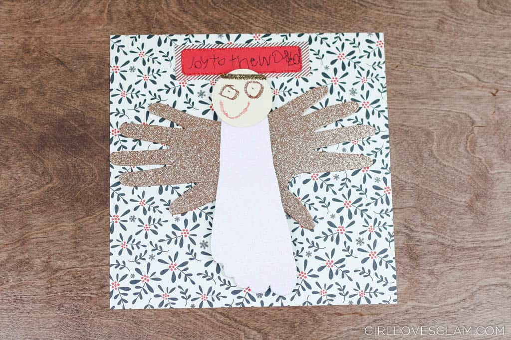 Kids Christmas Angel Craft