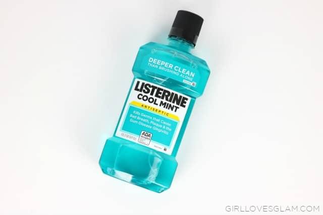 Listerine Cool Mint on www.girllovesglam.com