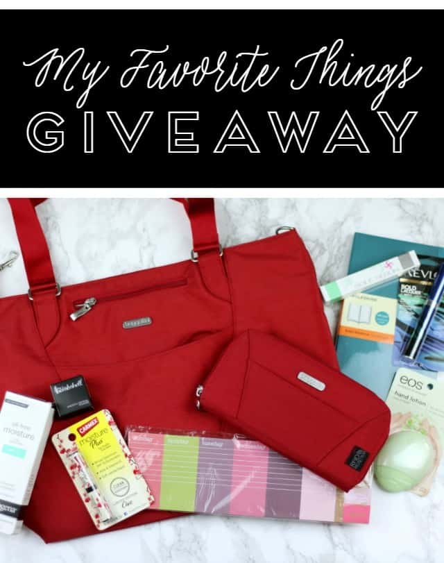 My Favorite Things Giveaway on www.girllovesglam.com