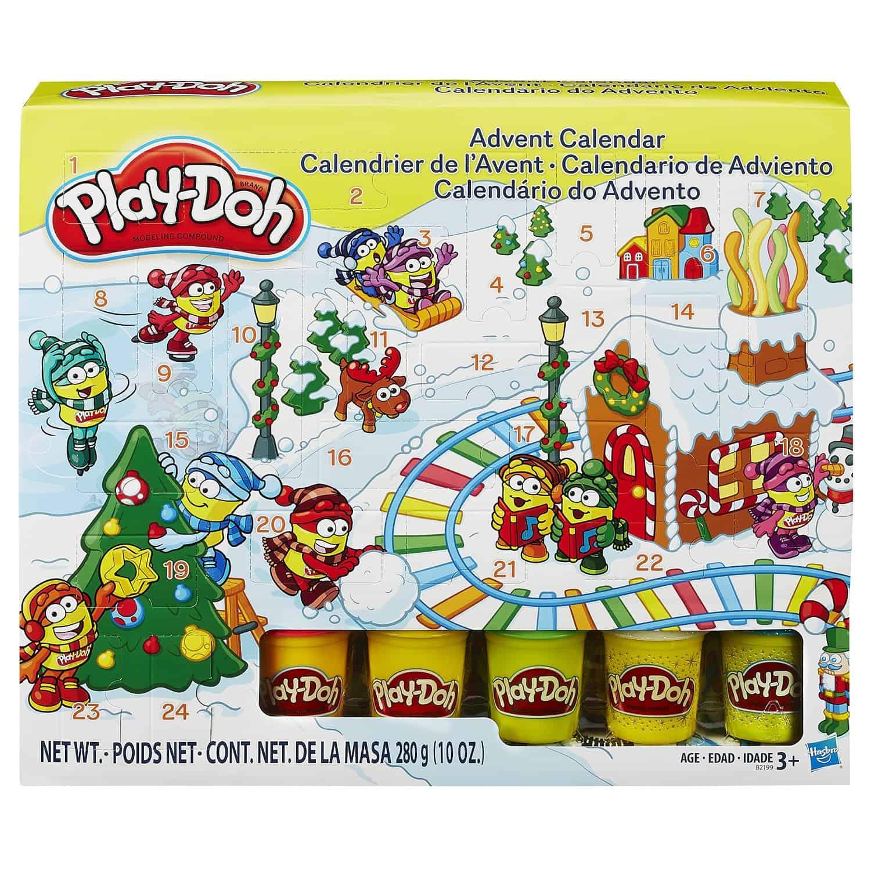 Play Doh Advent Calendar