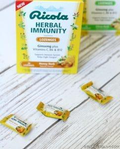 Ricola Herbal Immunity Lozenges Honey Herb on www.girllovesglam.com