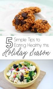 5 Simple Tips to Eating Healthy this Holiday Season on www.girllovesglam.com