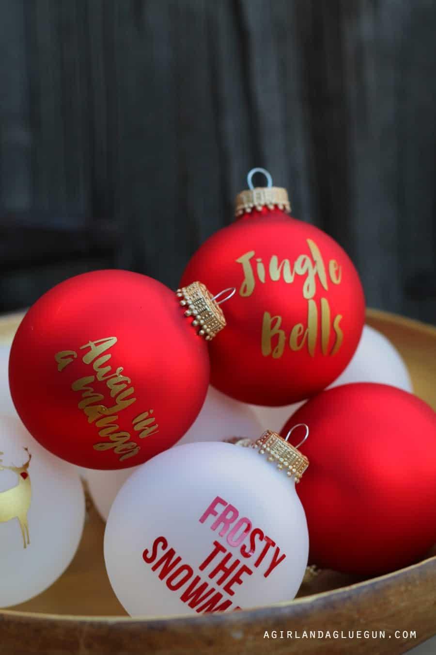 Christmas Carol Ornament Advent Calendar