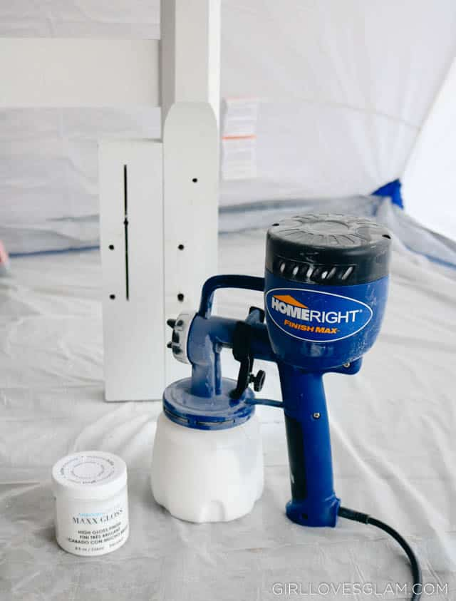 HomeRight Paint Sprayer on www.girllovesglam.com