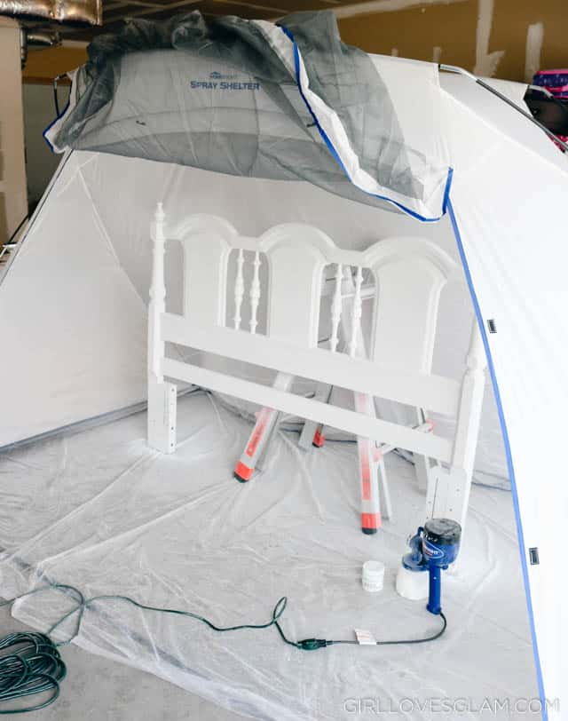 HomeRight Spray Shelter on www.girllovesglam.com