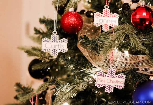 Shrinky Dinks Cheap Christmas Ornaments on www.girllovesglam.com