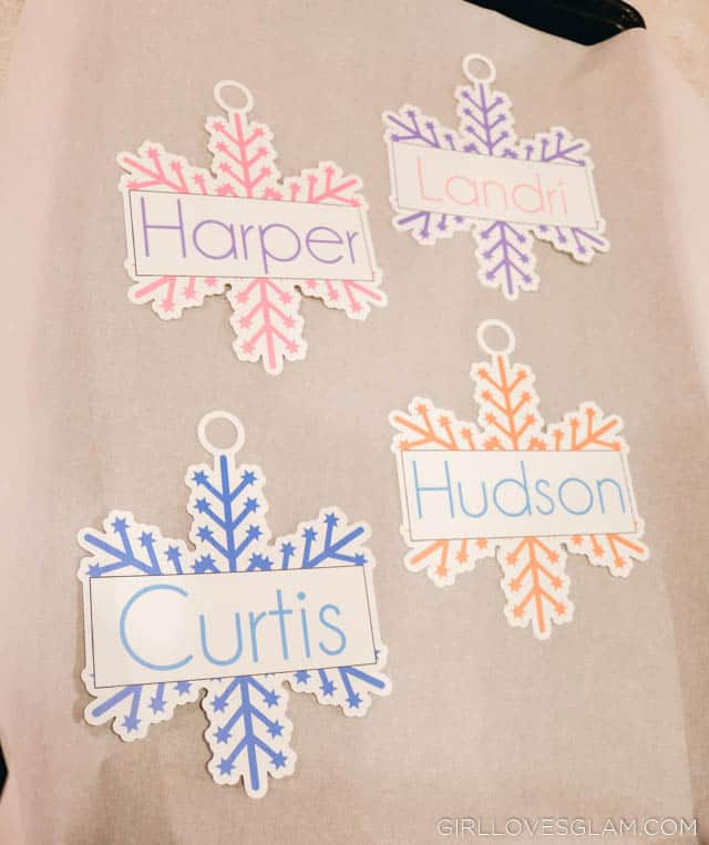 Shrinky Dinks Ornaments using Silhouette Cameo Print and Cut on www.girllovesglam.com