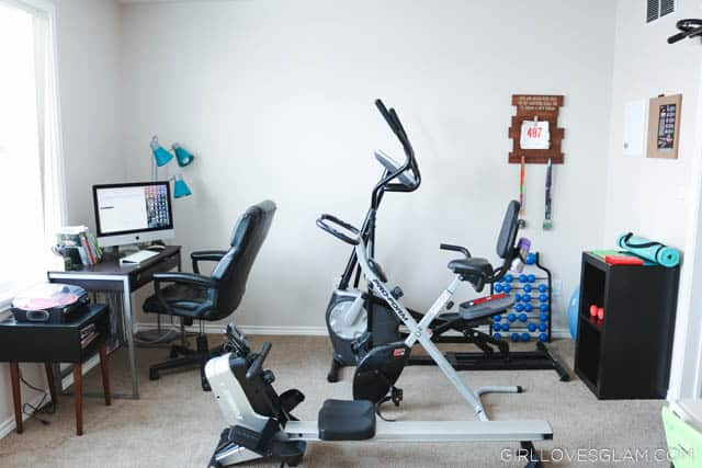 Creating a Home Gym that works for you on www.girllovesglam.com