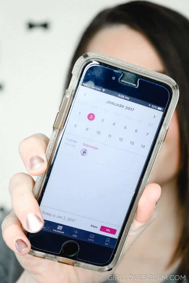 Scheduling Using the Curago App on www.girllovesglam.com