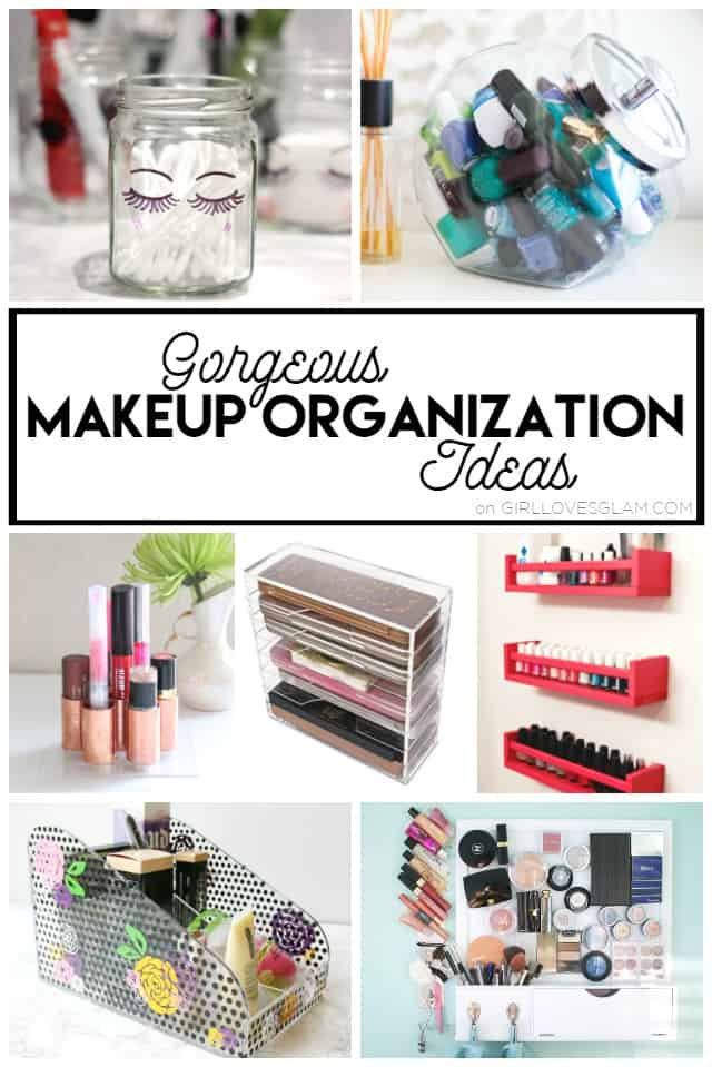 Gorgeous Makeup Organization Ideas on www.girllovesglam.com