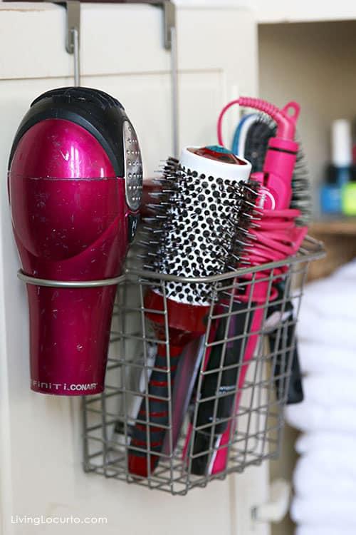 Hair Dryer Station on www.girllovesglam.com