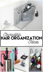 Incredible Hair Organization Ideas on www.girllovesglam.com