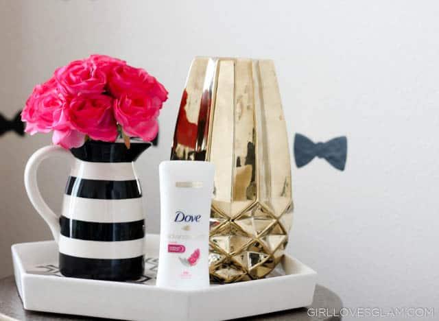 Dove Advanced Care Antiperspirant on www.girllovesglam.com