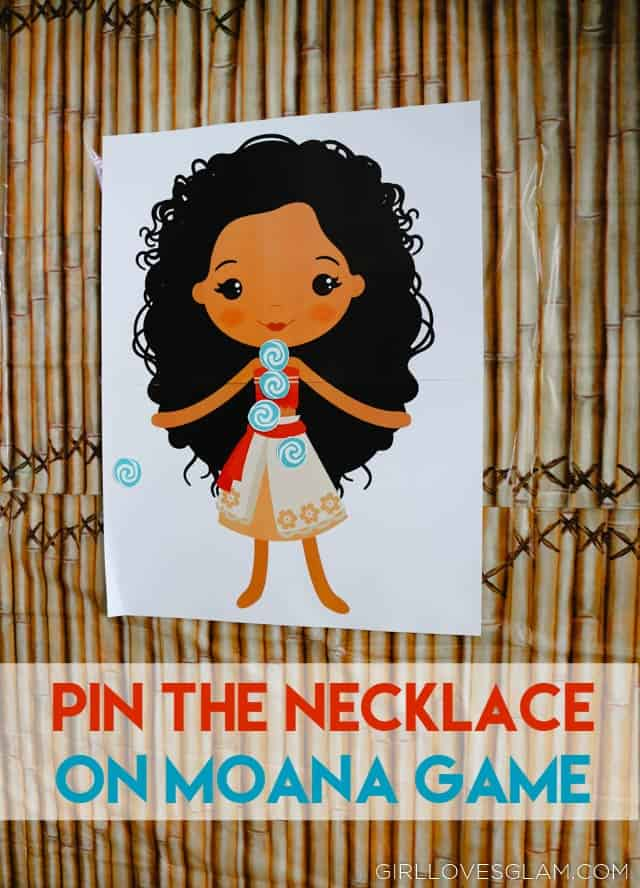 Pin the Necklace on Moana Game on www.girllovesglam.com