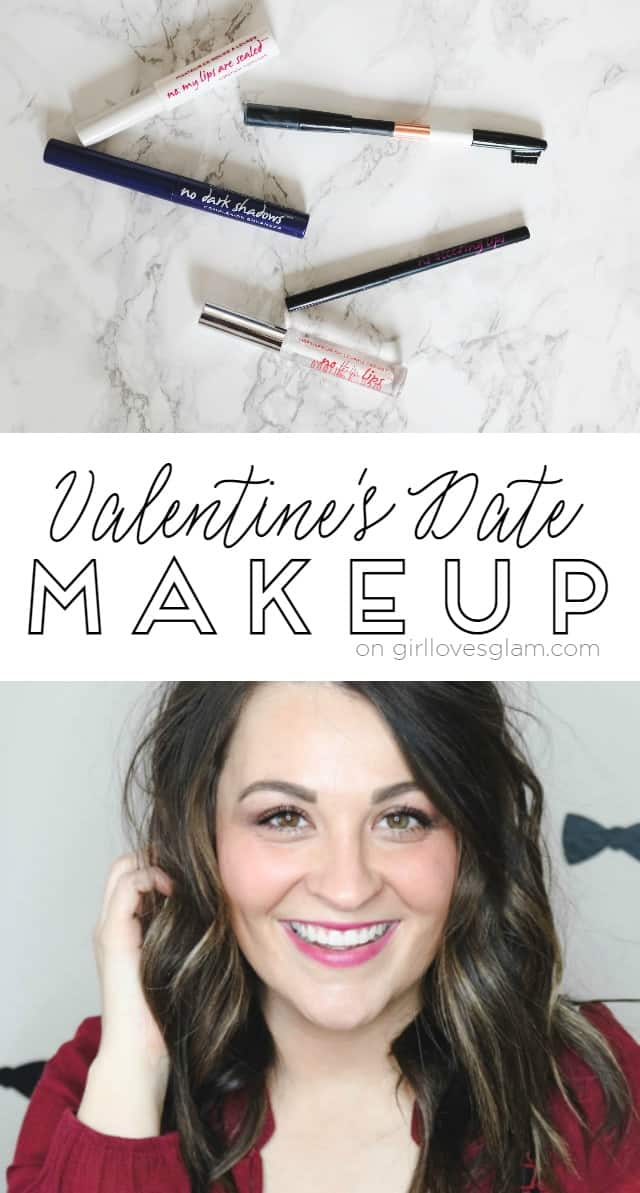Valentine's Date Makeup on www.girllovesglam.com
