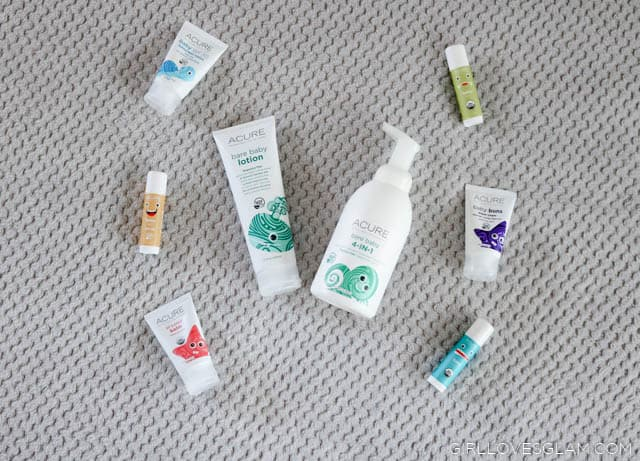 ACURE Baby Giveaway on www.girllovesglam.com
