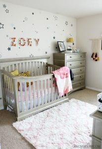 Beautiful Nursery Decor on www.girllovesglam.com