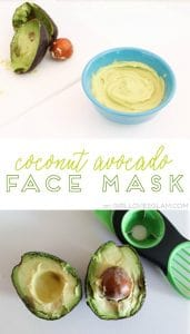 Coconut Avocado Face Mask on www.girllovesglam.com