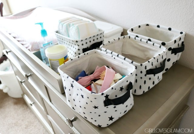 Nursery Organization on www.girllovesglam.com
