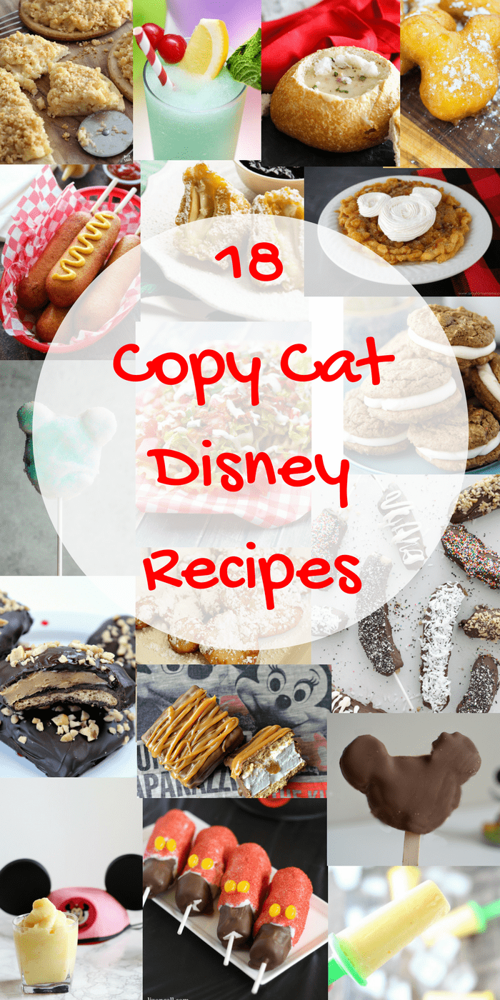 18 Copycat Disney Recipes on www.girllovesglam.com