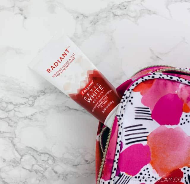 Colgate Radiant White Toothpaste on www.girllovesglam.com
