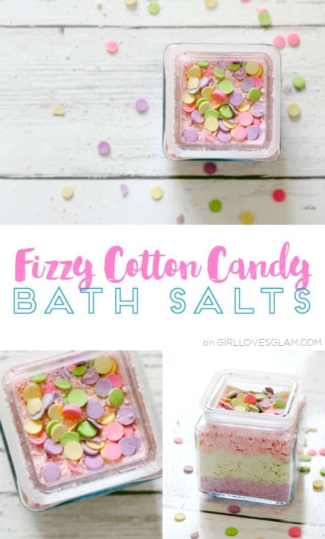 Fizzy Cotton Candy Bath Salts on www.girllovesglam.com