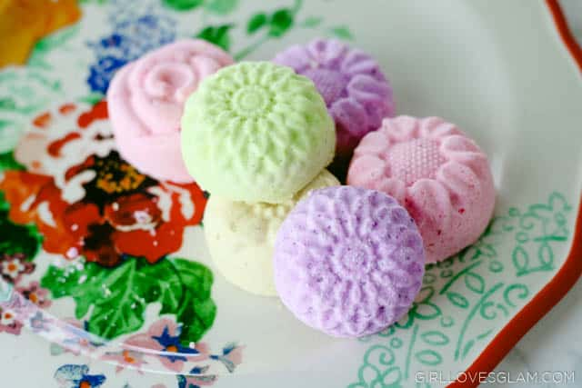 Floral Bath Bombs on www.girllovesglam.com