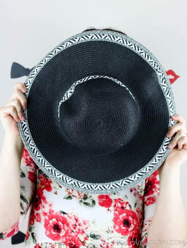 Sun Hat on www.girllovesglam.com