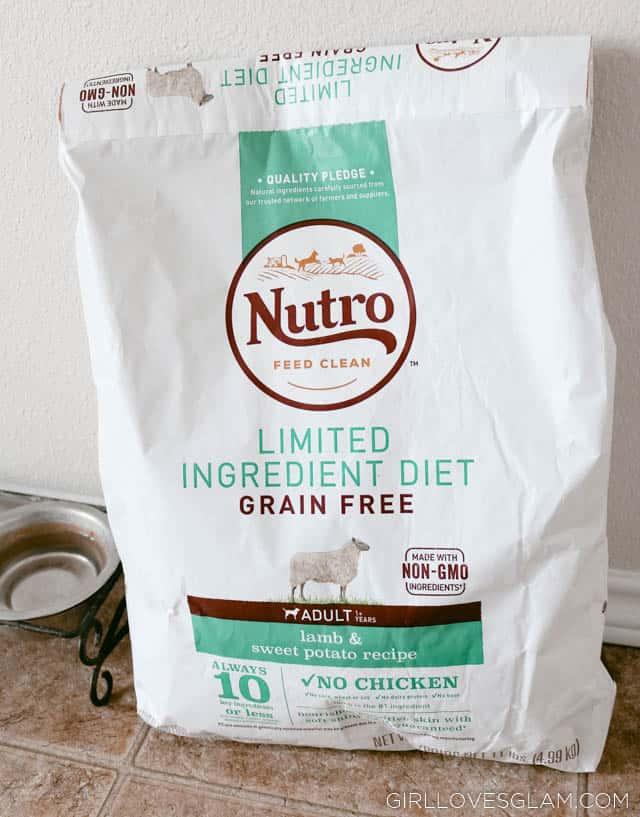 Nutro Dog Food on www.girllovesglam.com