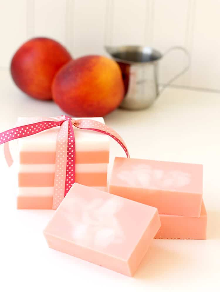 Peaches and Cream Soap Gift Idea on www.girllovesglam.com