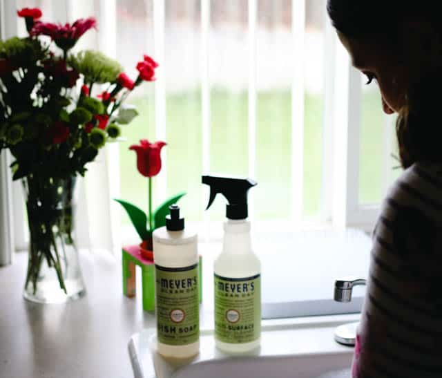 Mrs. Meyers Clean Day Cleaners on www.girllovesglam.com