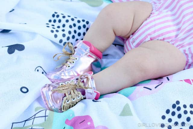 Baby Wing Shoes on www.girllovesglam.com