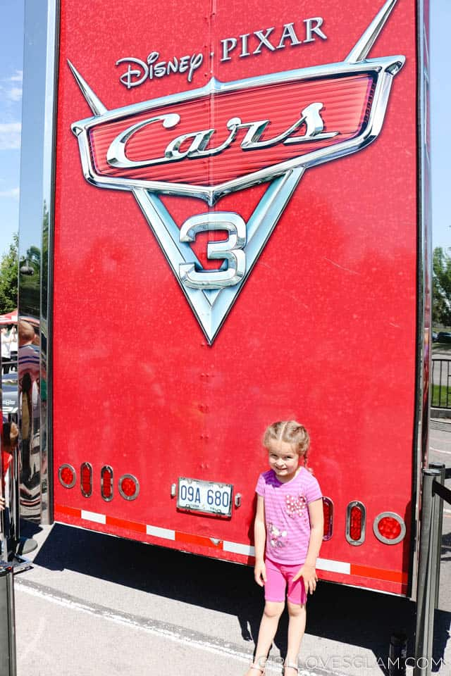 Cars 3 Tour on www.girllovesglam.com
