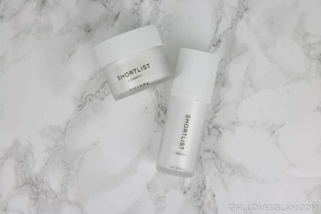 Shortlist Skincare Serum and Cream on www.girllovesglam.com