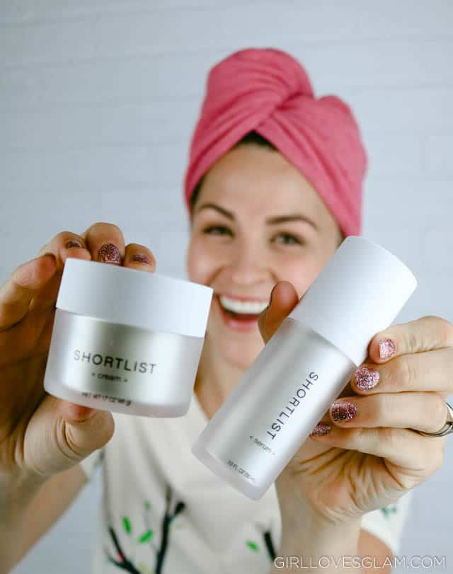 Shortlist Skincare Cream and Serum on www.girllovesglam.com