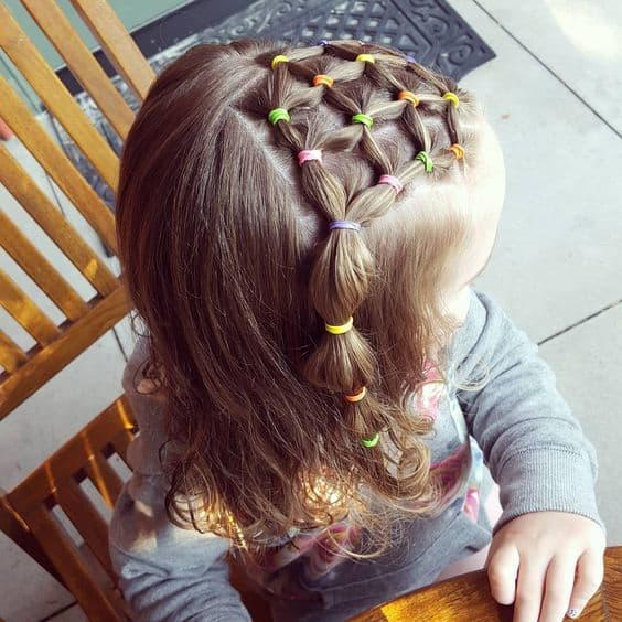 Toddler Web Hairstyle