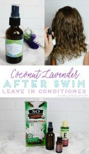 Coconut Lavender After Swim Leave In Conditioner on www.girllovesglam.com
