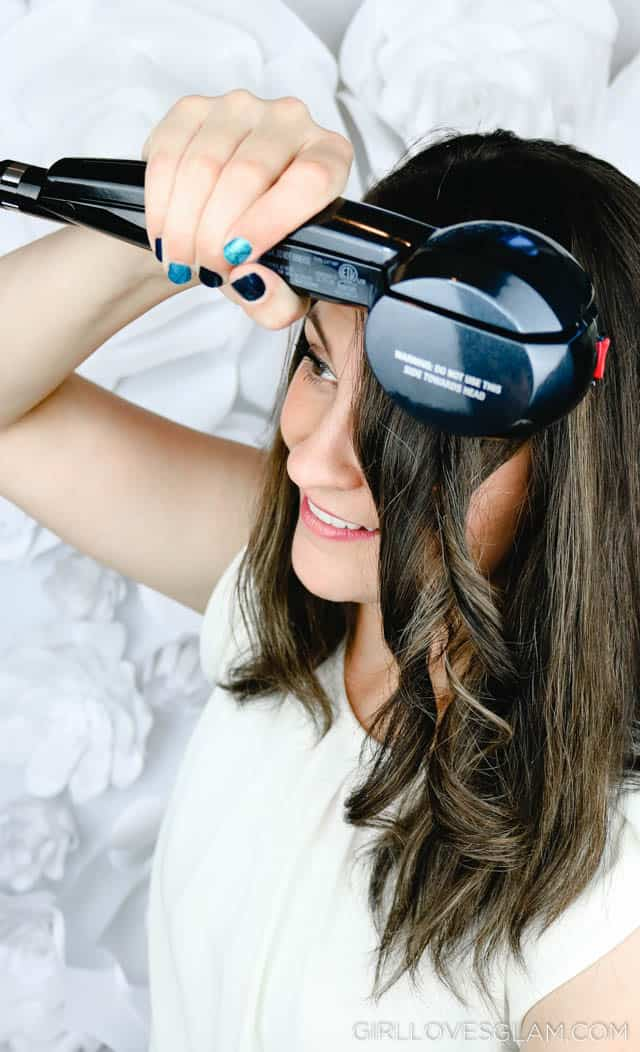 How to use the Conair InfinitiPRO Curl Secret 2.0 on www.girllovesglam.colm