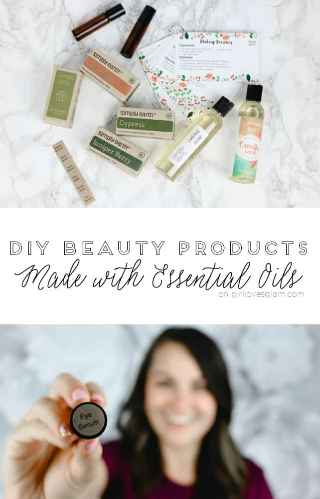 DIY Beauty Products Made with Essential Oils on www.girllovesglam.com