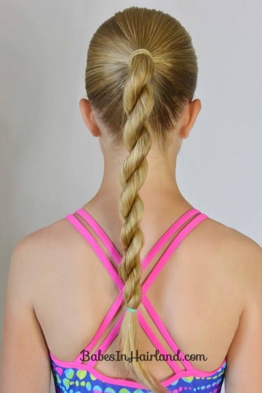 Rope Twist Ponytail