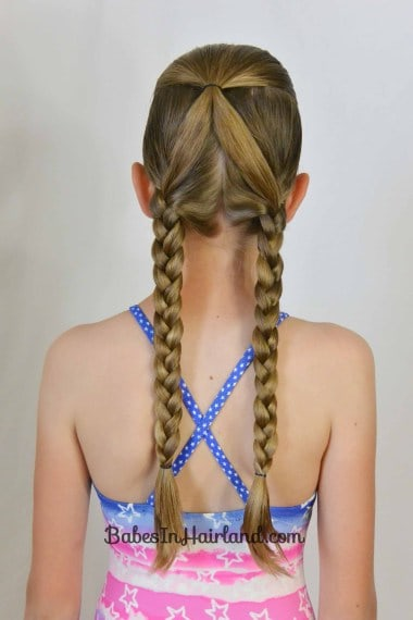 Swimming Braided Pigtails
