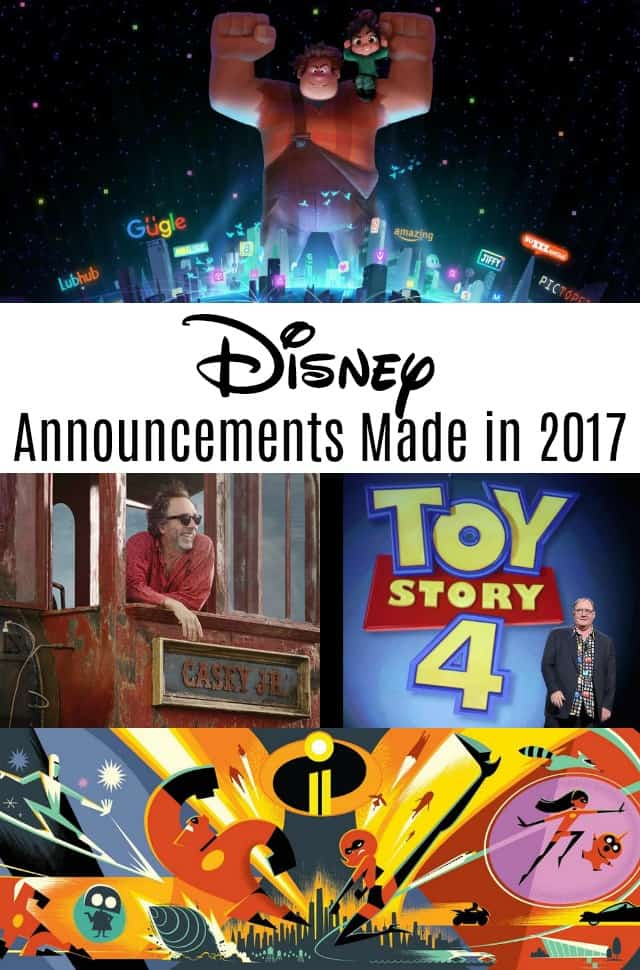 Disney Announcements Made in 2017 on www.girllovesglam.com
