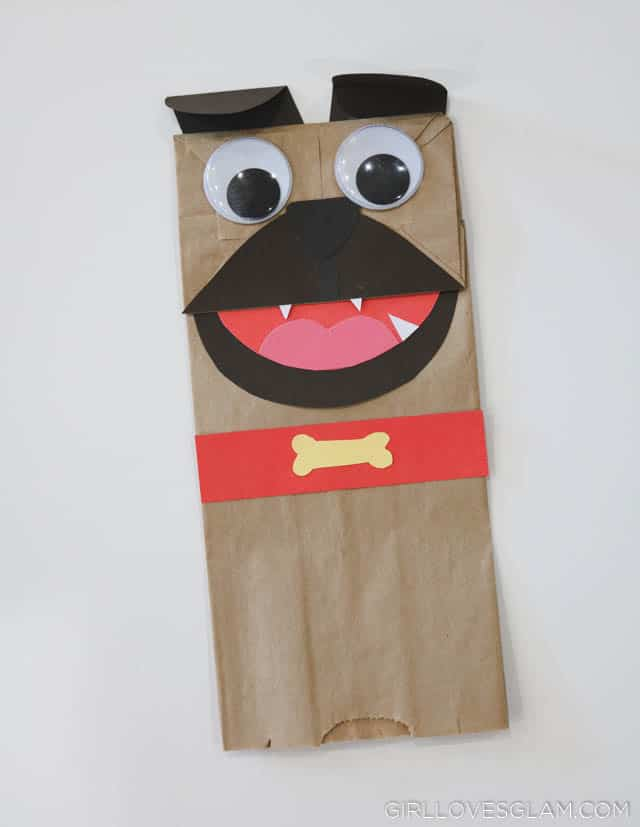 Puppy Dog Pals Rolly Puppet Tutorial on www.girllovesglam.com