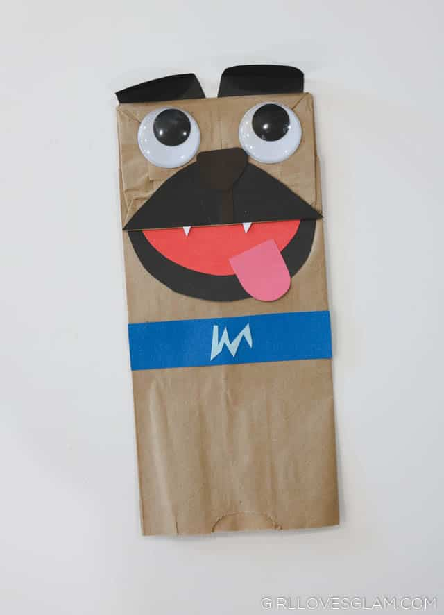 Puppy Dog Pals Bingo Puppet Tutorial on www.girllovesglam.com