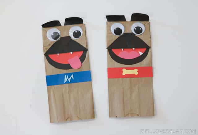 Pug Puppets on www.girllovesglam.com