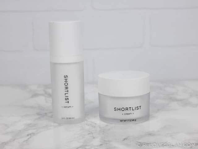 Shortlist Skincare on www.girllovesglam.com
